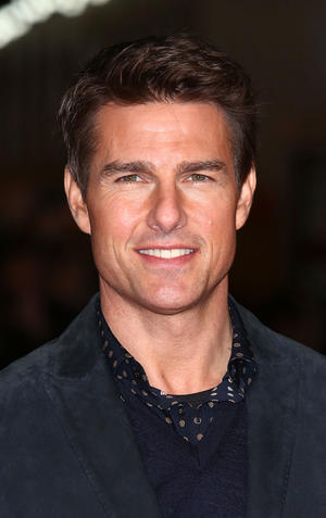 """Tom Cruise at the world premiere of """"Jack Reacher"""" in London."""