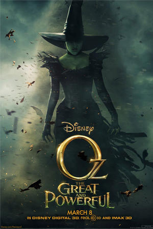 "Poster art for ""Oz: The Great and Powerful."""