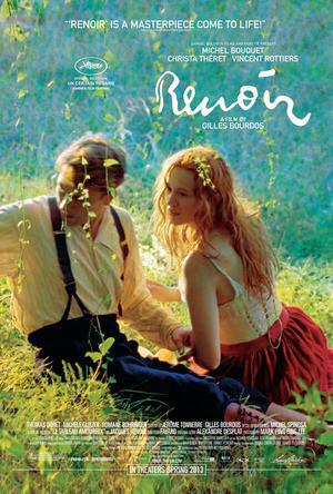 "Poster art for ""Renoir."""