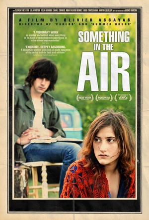 """Poster art for """"Something in the Air."""""""
