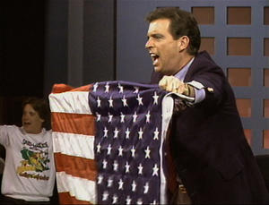 "Morton Downey Jr. in ""Evocateur: The Morton Downey Jr. Movie."""