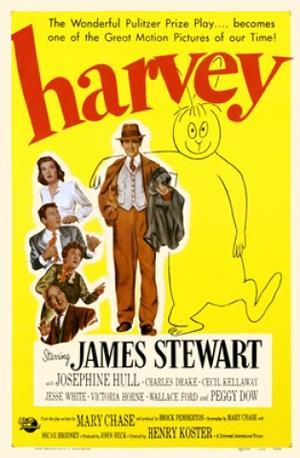 """Poster art for """"Harvey."""""""