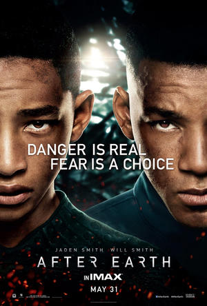 "Poster art for ""After Earth: The IMAX Experience."""
