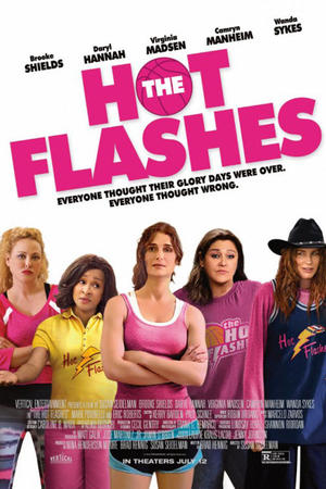 "Poster art for ""The Hot Flashes."""