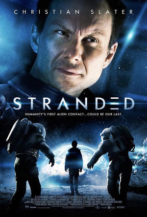 "Poster art for ""Stranded."""