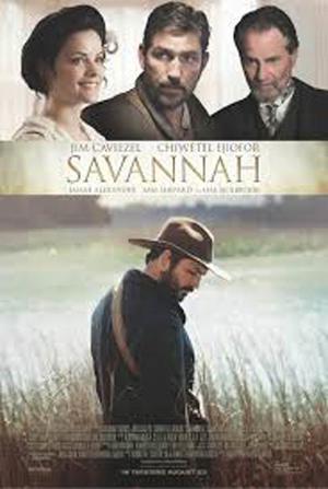 "Poster art for ""Savannah."""