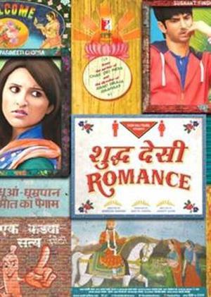 """Poster art for """"Shuddh Desi Romance."""""""