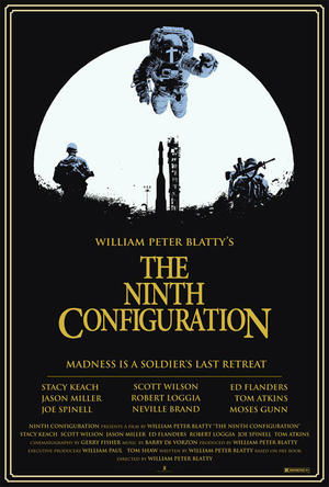 """Poster art for """"The Ninth Configuration."""""""