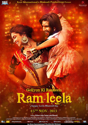 "Poster art for ""Ram Leela."""