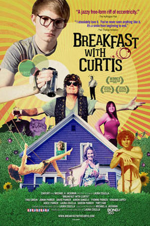 """Poster art for """"Breakfast with Curtis."""""""