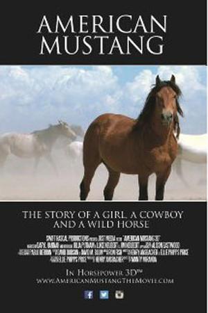 "Poster art for ""American Mustang."""