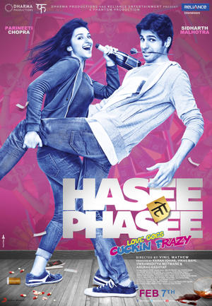 "Poster art for ""Hasee Toh Phasee."""