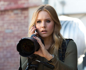 "Kristen Bell as Veronica Mars in ""Veronica Mars."""
