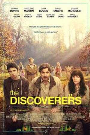 """Poster art for """"The Discoverers."""""""