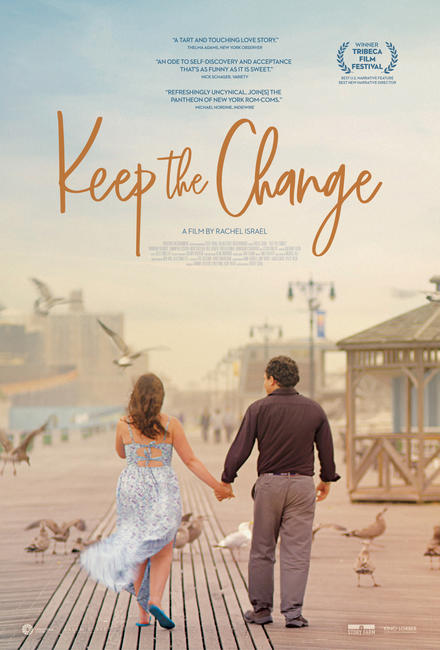 Image result for keep the change poster