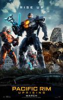 Pacific Rim: Uprising (2018) poster