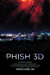 Phish 3D showtimes and tickets