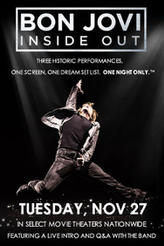 Bon Jovi: Inside Out showtimes and tickets