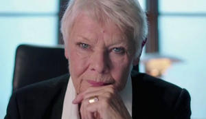 Judi Dench Spoofs James Bond in 'Philomena' MPAA Sketch