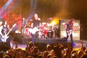 Metallica Movie at Comic-Con: New Trailer, Poster and Clips from Their Live Show
