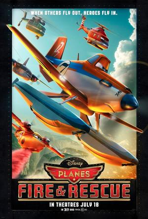 Dusty Flies High in Exclusive Poster for 'Planes: Fire and Rescue'