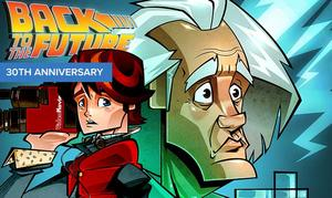 EXCLUSIVE ARTWORK: 'Back to the Future' 30th Anniversary Tribute