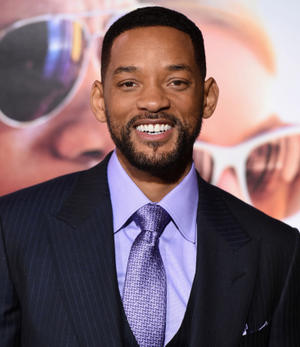 "Will Smith at the California premiere of ""Focus."""