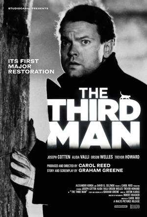 "Poster art for ""The Third Man."""