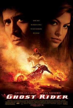 "Poster art for ""Ghost Rider."""