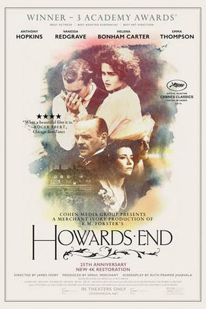 "Poster art for ""Howards End."""