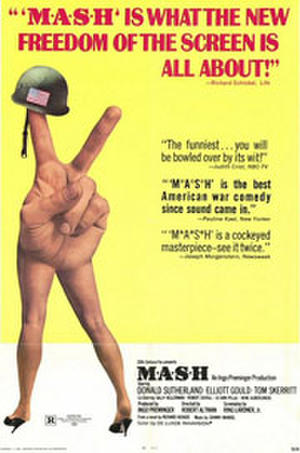 "Poster art for ""M*A*S*H."""