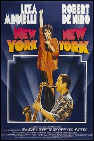 "Poster art for ""New York, New York."""