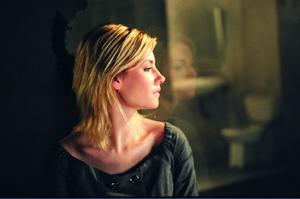 "Elisha Cuthbert in ""Captivity."""