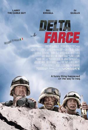 """Poster art for """"Delta Farce."""""""