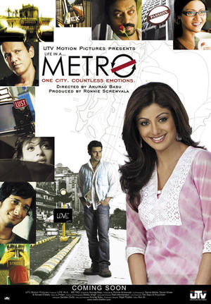 "Poster art for ""Life in a...Metro."""