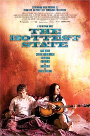 "Poster art for ""The Hottest State"""