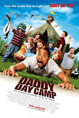 """Poster art for """"Daddy Day Camp."""""""