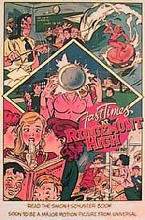"Poster art for ""Fast Times at Ridgemont High."""