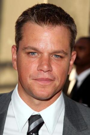 """""""The Bourne Ultimatum"""" star Matt Damon at the L.A. premiere."""