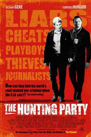 """Poster art for """"The Hunting Party."""""""