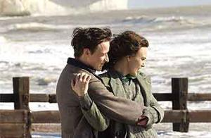 "James McAvoy and Keira Knightley in ""Atonement."""