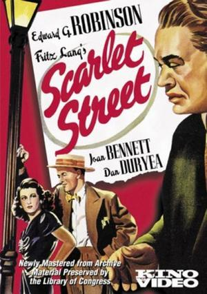 "Poster art for ""Scarlet Street."""