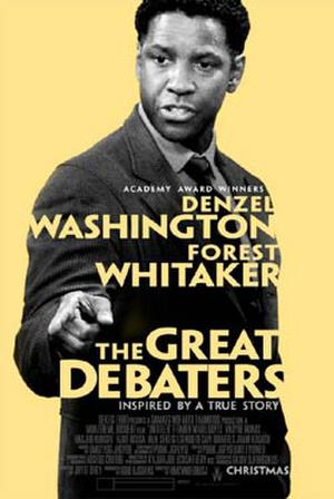 "Poster art for ""The Great Debaters."""