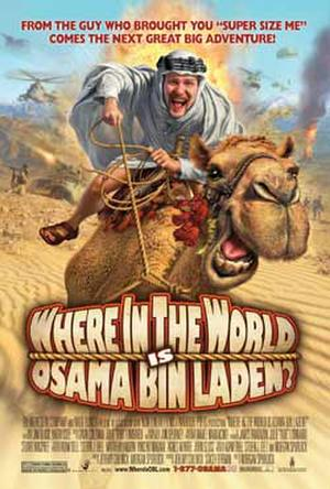 "Poster art for ""Where in the World Is Osama bin Laden?"""