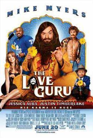 """Poster art for """"Love Guru."""""""