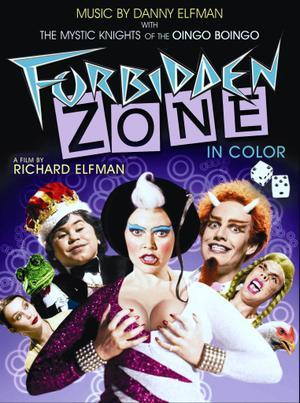 "Poster art for ""Forbidden Zone."""