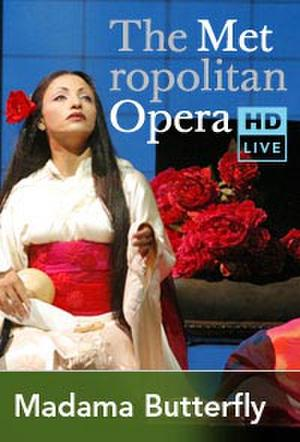 "Poster art for ""The Metropolitan Opera: Madama Butterfly."""
