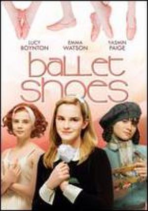 "Poster art for ""Ballet Shoes."""