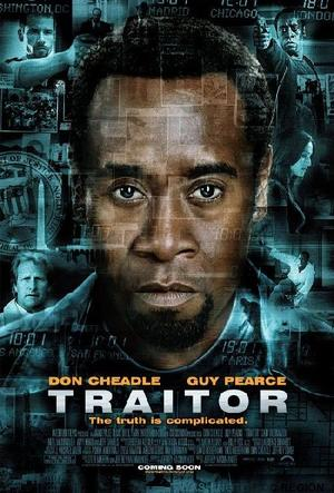 """Poster Art for """"Traitor."""""""