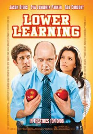 "Poster art for ""Lower Learning."""